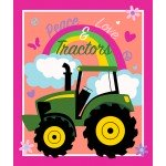 John Deere Peace Love and Tractors Panel