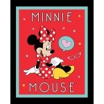 Minnie Mouse Love Thought Panel