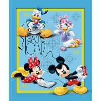 Mickey and Friends Game Over Cotton Panel