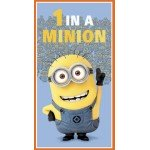 Despicable Me 1 in a Minion Cotton Fabric Panel