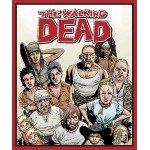 Walking Dead Character Cotton Panel