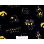 University of Iowa Icon Toss Fleece