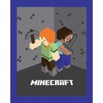 Minecraft Alex and Steve Cotton Panel