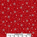 American Dreams Red 108 Wide Cotton