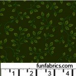 Folio Dark Green 108 Wide Cotton