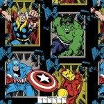 Marvel Comics Avengers Busting Out Black Fleece